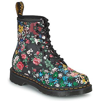 Chaussures Femme Boots Dr Martens 1460 PASCAL Noir / Multicolore