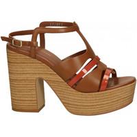 Chaussures Femme Sandales et Nu-pieds Bruno Premi VERNICE+PONCHO cuoio