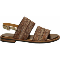 Chaussures Femme Sandales et Nu-pieds Frau NATURAL-Srafia miele-platino