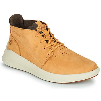 Chaussures Homme Baskets montantes Timberland BRADSTREET ULTRA PT CHK Beige