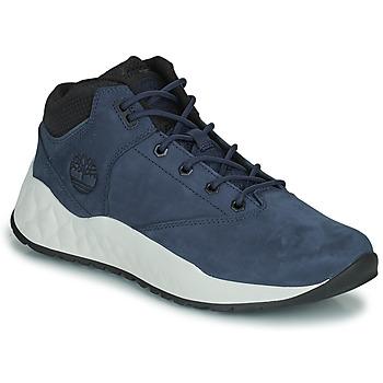 Chaussures Homme Baskets montantes Timberland SOLAR WAVE SUPER OX Bleu