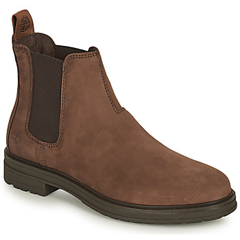 Chaussures Femme Boots Timberland HANNOVER HILL CHELSEA Marron