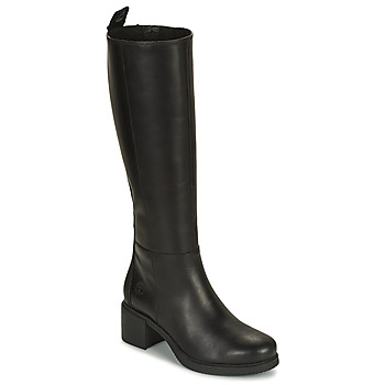 Chaussures Femme Bottes ville Timberland DALSTON VIBE TALL BOOT Noir