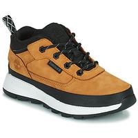 Chaussures Enfant Baskets montantes Timberland FIELD TREKKER LOW Blé