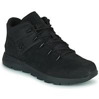 Chaussures Enfant Baskets montantes Timberland SPRINT TREKKER MID Noir