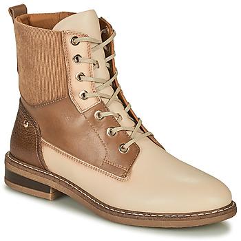 Chaussures Femme Boots Pikolinos ALDAYA Beige