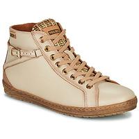 Chaussures Femme Baskets montantes Pikolinos LAGOS Beige
