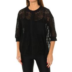 Vêtements Femme Tops / Blouses Desigual Chemisier à manches courtes Noir