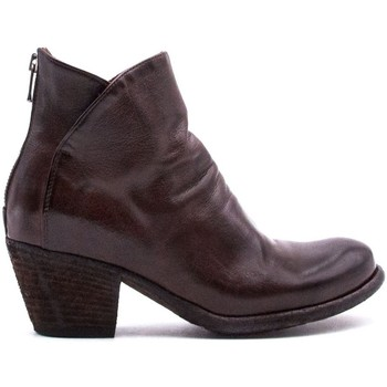 Chaussures Femme Bottines Officine Creative GISELLE-008-IGNIS MARRONE
