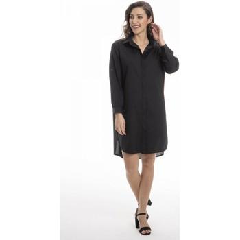 Vêtements Femme Robes courtes Gerard Pasquier Robe confort REBECA Noir