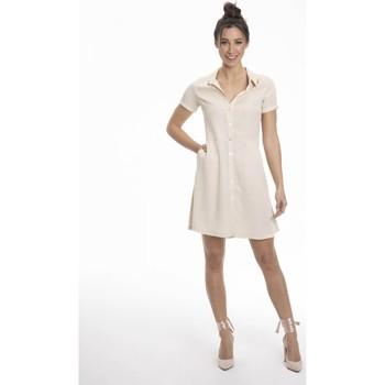 Vêtements Femme Robes courtes Gerard Pasquier Robe confort REGANE Beige