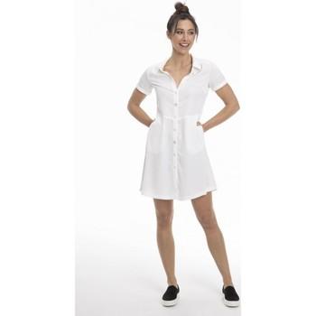 Vêtements Femme Robes courtes Gerard Pasquier Robe confort REGANE Blanc
