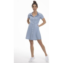 Vêtements Femme Robes courtes Gerard Pasquier Robe confort REGANE Bleu