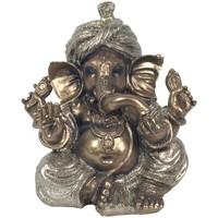 Maison & Déco Statuettes et figurines Signes Grimalt Sitting Ganesh Dorado Dorado