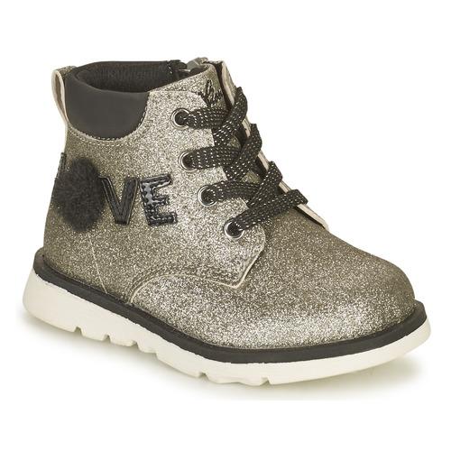 Chaussures Fille Boots Chicco FLORINA Argenté