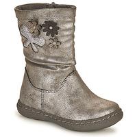 Chaussures Fille Bottes ville Chicco CAROL Argenté