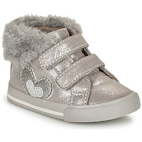 Chaussures Fille Baskets montantes Chicco GLAM Gris