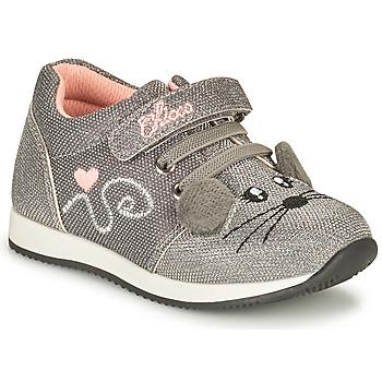 Chaussures Fille Baskets basses Chicco FLEXY Argenté