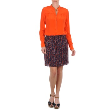 Vêtements Femme Jupes Marc O'Polo AURELIA Marine / Rouge