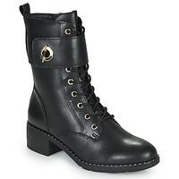 Chaussures Femme Bottines Tamaris SEEDRE Noir / Doré