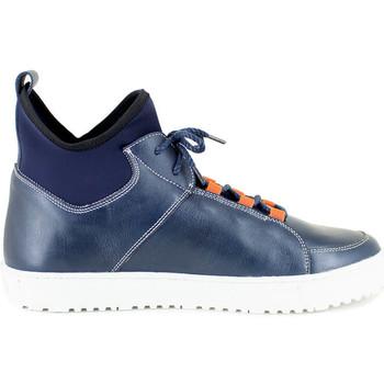 Chaussures Homme Baskets montantes J.bradford MOSELLE MARINE Bleu