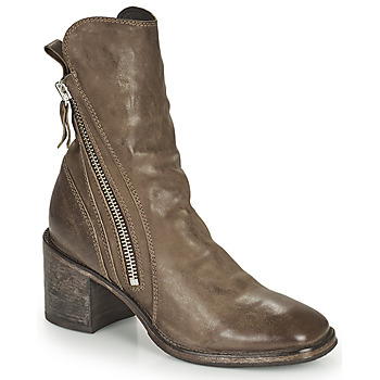 Chaussures Femme Boots Moma NANINI Marron