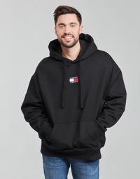 Vêtements Homme Sweats Tommy Jeans TJM TOMMY BADGE HOODIE Noir