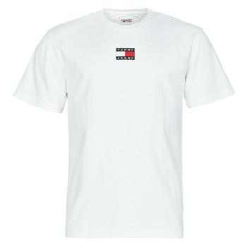 Vêtements Homme T-shirts manches courtes Tommy Jeans TJM TOMMY BADGE TEE Blanc