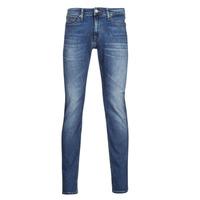 Vêtements Homme Jeans slim Tommy Jeans SCANTON SLIM AE136 MBS Bleu Medium