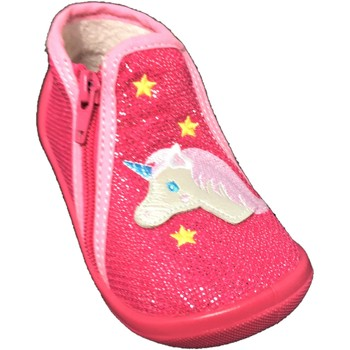 Chaussures Fille Chaussons Bopy ALICO Fuchsia