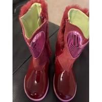 Chaussures Fille Bottes ville Agatha Ruiz de la Prada Bottes hiver fille Bordeaux