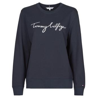 Vêtements Femme Sweats Tommy Hilfiger REGULAR GRAPHIC C-NK SWEATSHIRT Marine