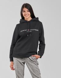Vêtements Femme Sweats Tommy Hilfiger HERITAGE HILFIGER HOODIE LS Noir