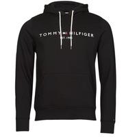 Vêtements Homme Sweats Tommy Hilfiger TOMMY LOGO HOODY Noir
