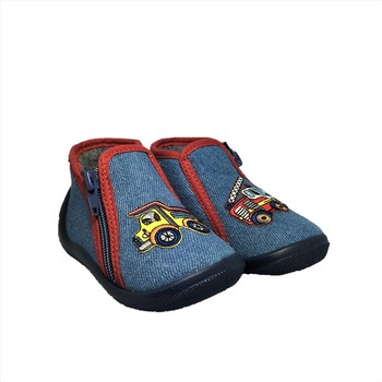Chaussures Garçon Chaussons bébés Bopy ACAMION Bleu