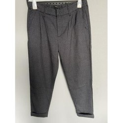 Vêtements Femme Chinos / Carrots Only Pantalon Chino ONLY Gris