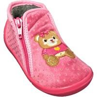 Chaussures Fille Chaussons bébés Bopy ANOURS Fuchsia