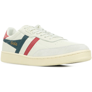 Chaussures Homme Baskets basses Gola Contact Leather blanc