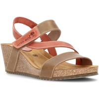 Chaussures Femme Sandales et Nu-pieds Interbios Sandales  Caleçon confortable 2019 BEIG_TEJA