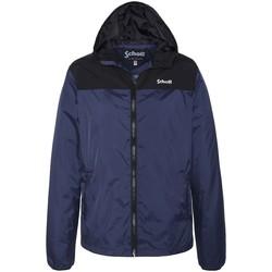 Vêtements Homme Coupes vent Schott Coupe vent à capuche  ref 52970 Bleu Bleu
