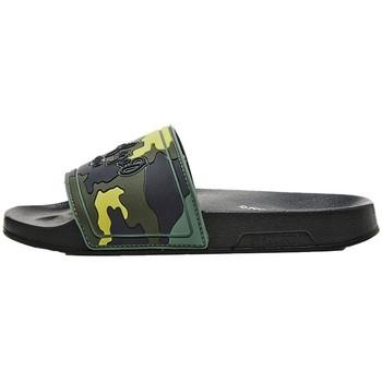Chaussures Garçon Claquettes Pepe jeans Mules  Slider Camo Boys Ref 53025 Khaki Green Vert