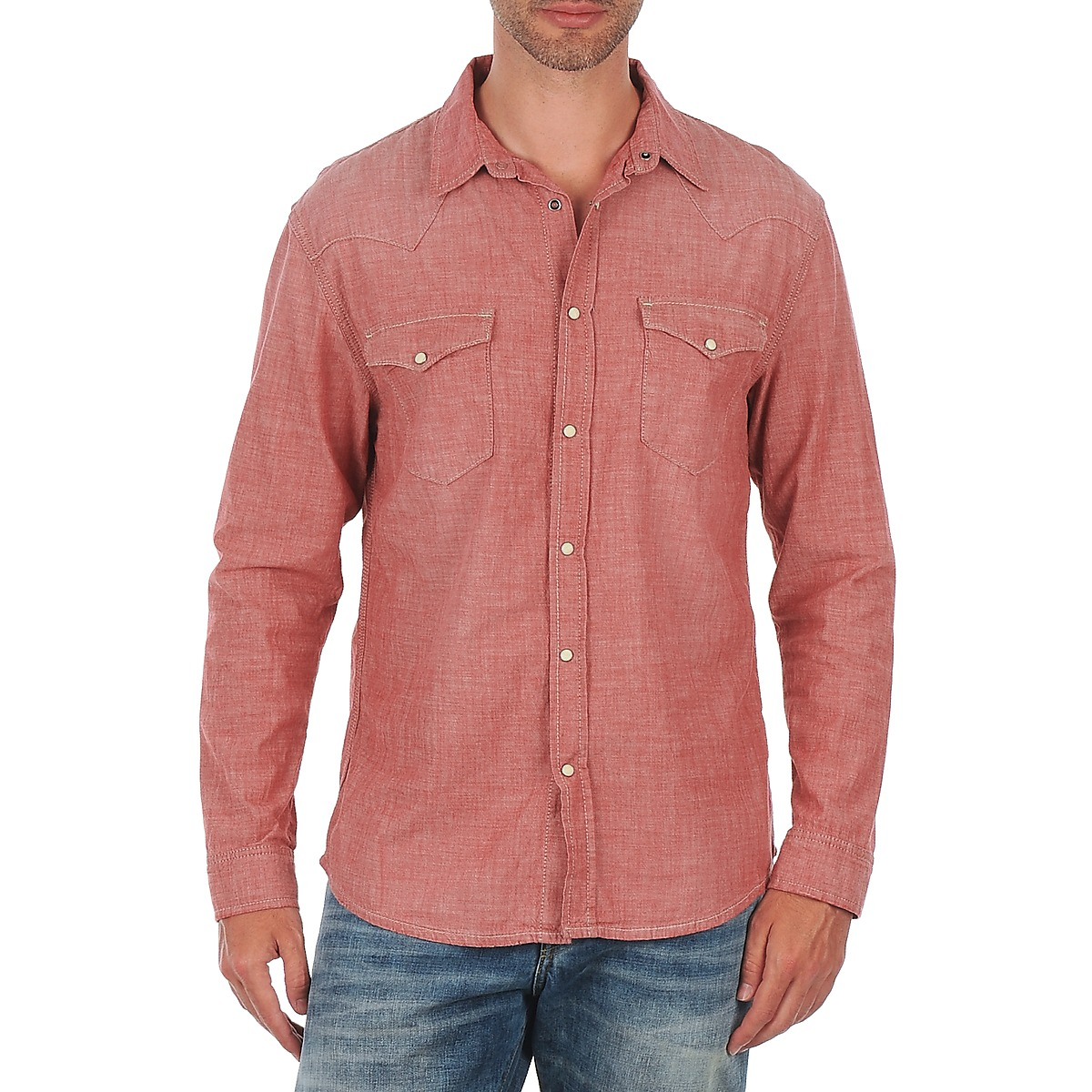 Selected Doha shirt ls r J Rouge
