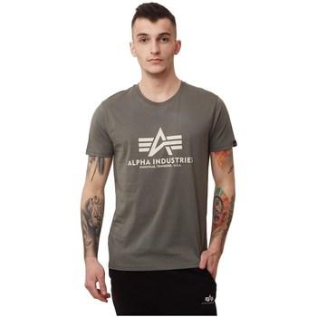 Vêtements Homme T-shirts manches courtes Alpha Basic Marron
