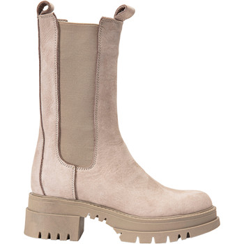Chaussures Femme Boots Inuovo Bottes Silber/Grau