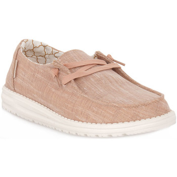 Chaussures Homme Mocassins Hey Dude ROSE WENDY Rosa