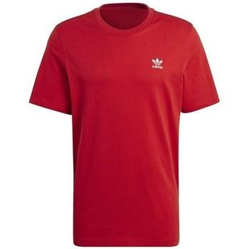 Vêtements Homme T-shirts manches courtes adidas Originals Essential Tee Rouge