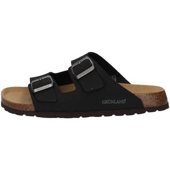 Chaussures Homme Mules Grunland CB3012 Noir