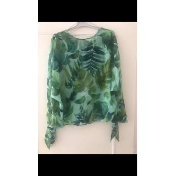 Vêtements Femme Tops / Blouses Zara Blouse Zara Vert