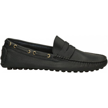 Chaussures Homme Mocassins Antica Cuoieria SOFTY BOTTOLATO blu
