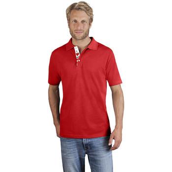 Vêtements Homme Polos manches courtes Promodoro Polo supérieur Fan Autriche Hommes rouge feu